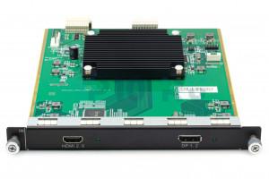 Входные сигналы 1 x HDMI 2.0+1 x DP 1.2, H_1xHDMI2.0+1xDP1.2 input card, Novastar