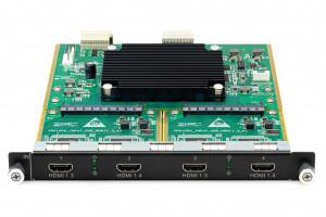 Входные сигналы 4 x HDMI, H_4xHDMI input card, Novastar