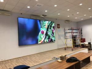 Cветодиодный экран p3 для конференц зала им. Сечина, 3sechin,
